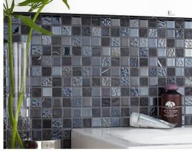 Mosaike gibt es in unterschiedlichen Formen nd Farben